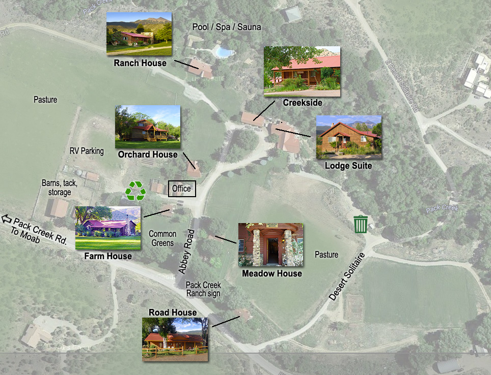 Pack Creek Ranch layout